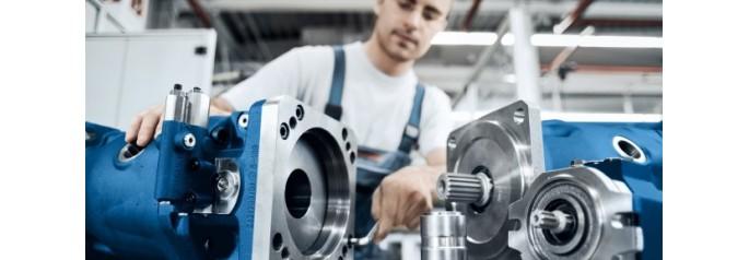 Bosch Rexroth представляет портал онлайн-услуг для гидравлических двигателей.